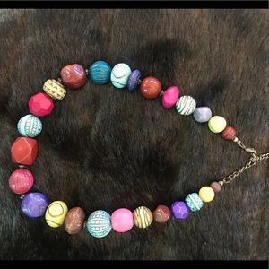 Jewelry - Beaded colorful necklace💐❤️🌸